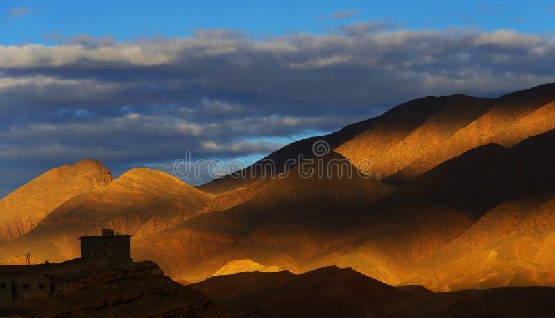 Atlant góry zdjęcie stock