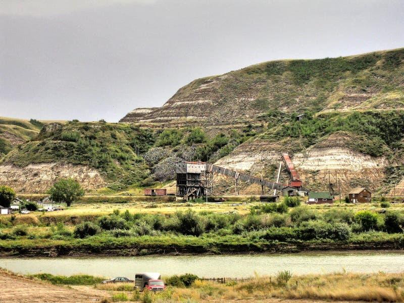 Atlant kopalnia węgla obrazy stock