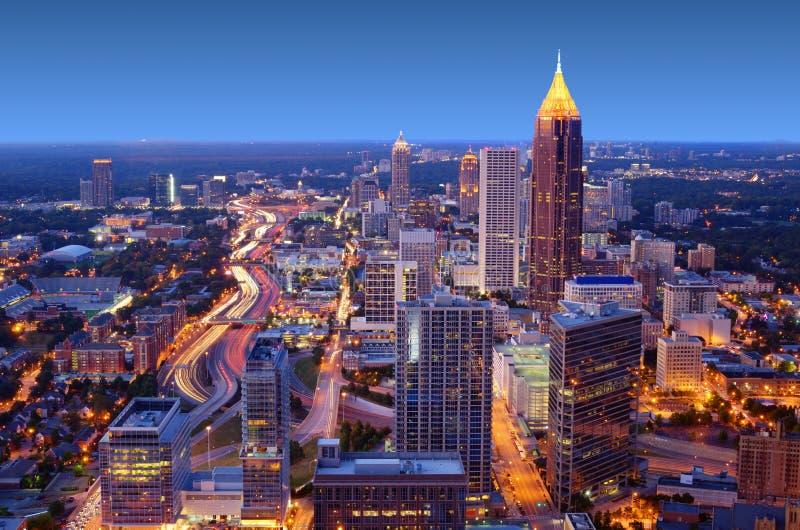 Atlanta lizenzfreies stockfoto
