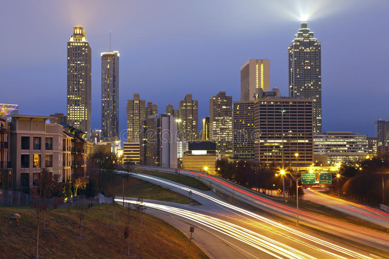 Download Atlanta stock image. Image of city, atlanta, financial - 28124771