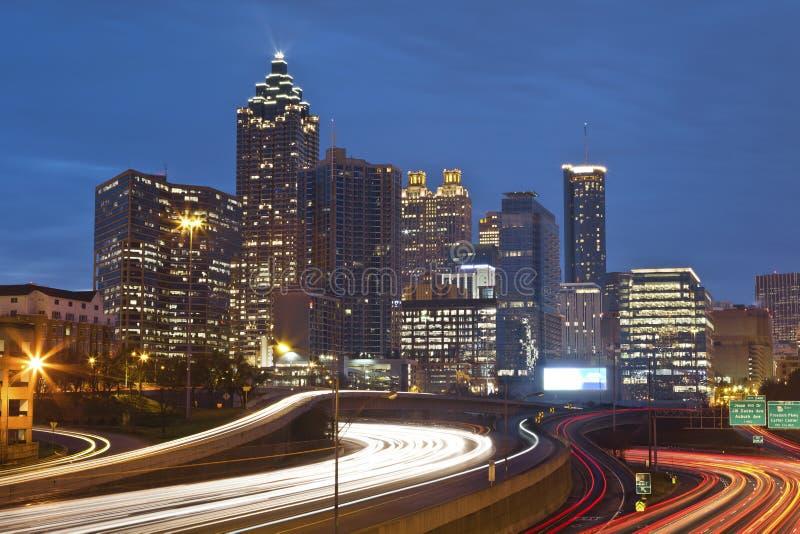 Atlanta. lizenzfreie stockfotografie