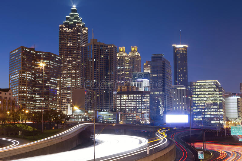 Atlanta. stockfotos