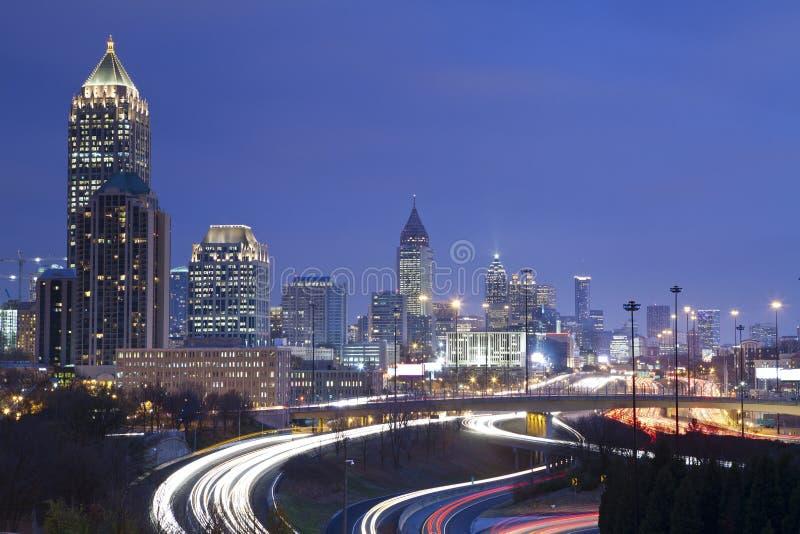 Atlanta. stockfoto