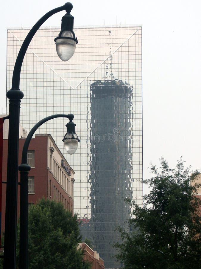 Atlanta - côté principal images stock