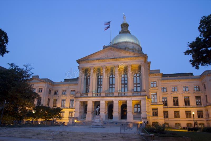 Atlanta Capital royaltyfri bild