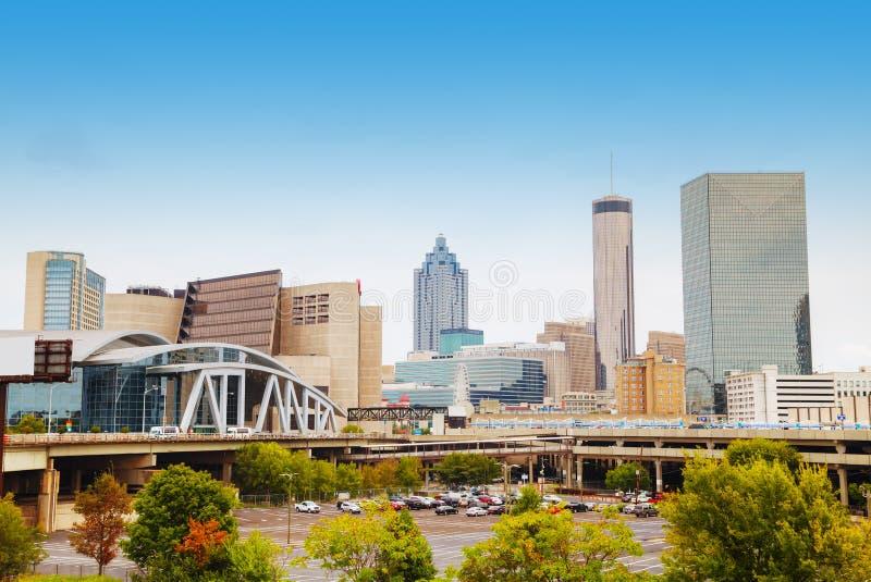 Atlanta da baixa, Geórgia imagens de stock royalty free