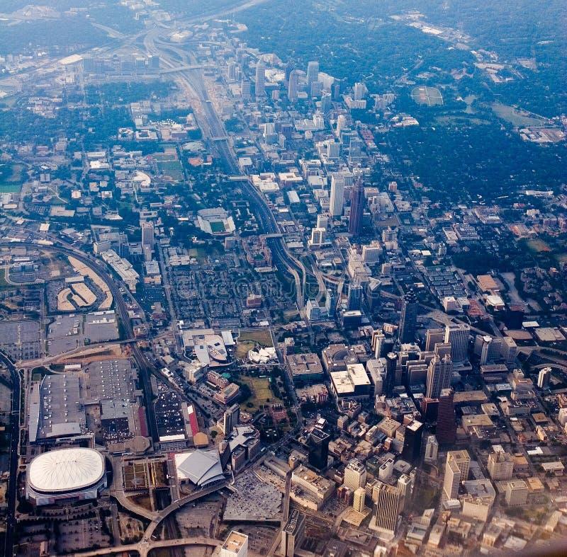 Atlanta da sopra immagini stock