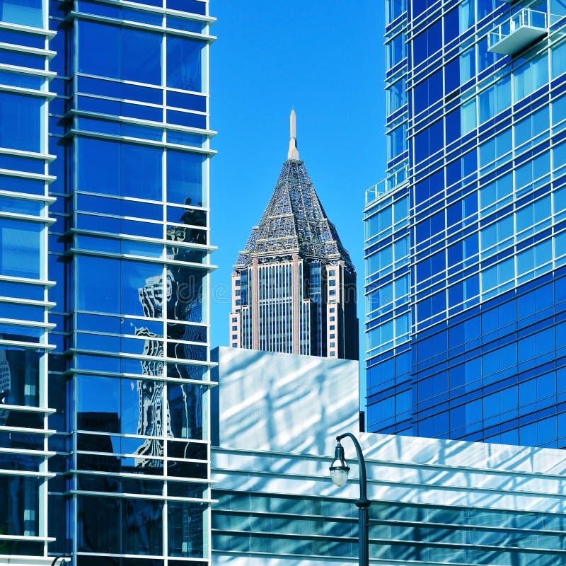 Atlanta do centro, Estados Unidos fotos de stock