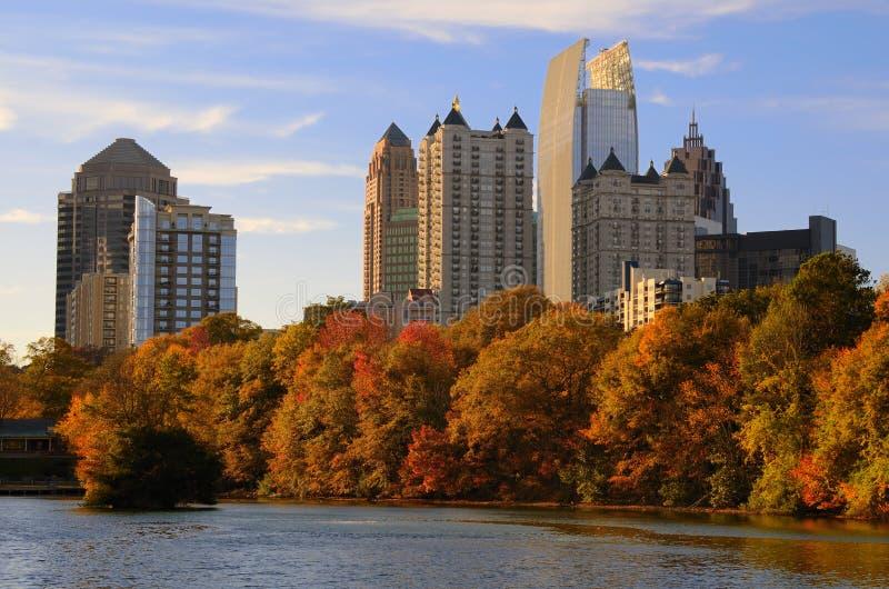 Atlanta do parque de Piedmont fotografia de stock royalty free