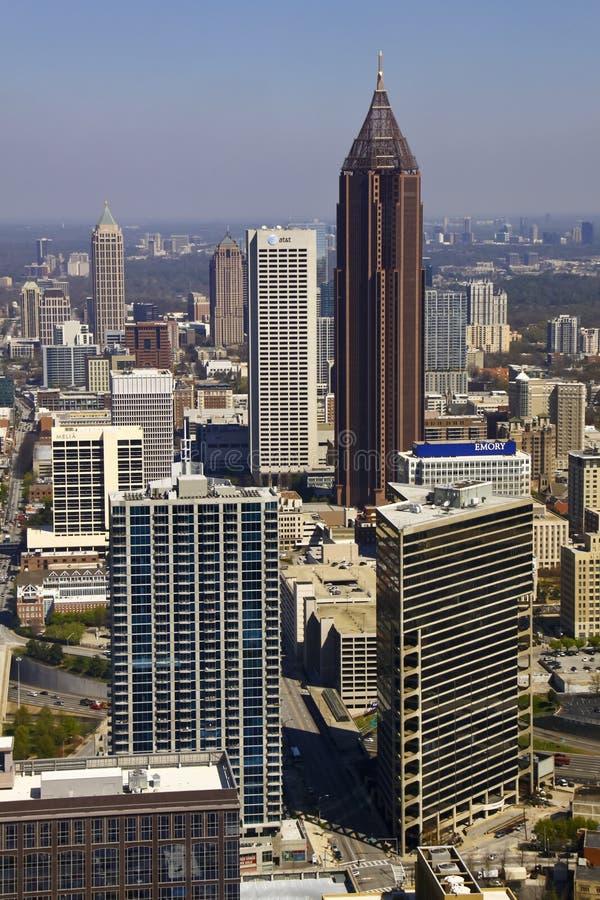 Atlanta - Downtown Skyline stock image