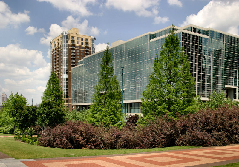 Atlanta du centre images libres de droits