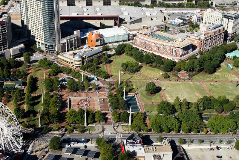 Atlanta du centre, GA image stock