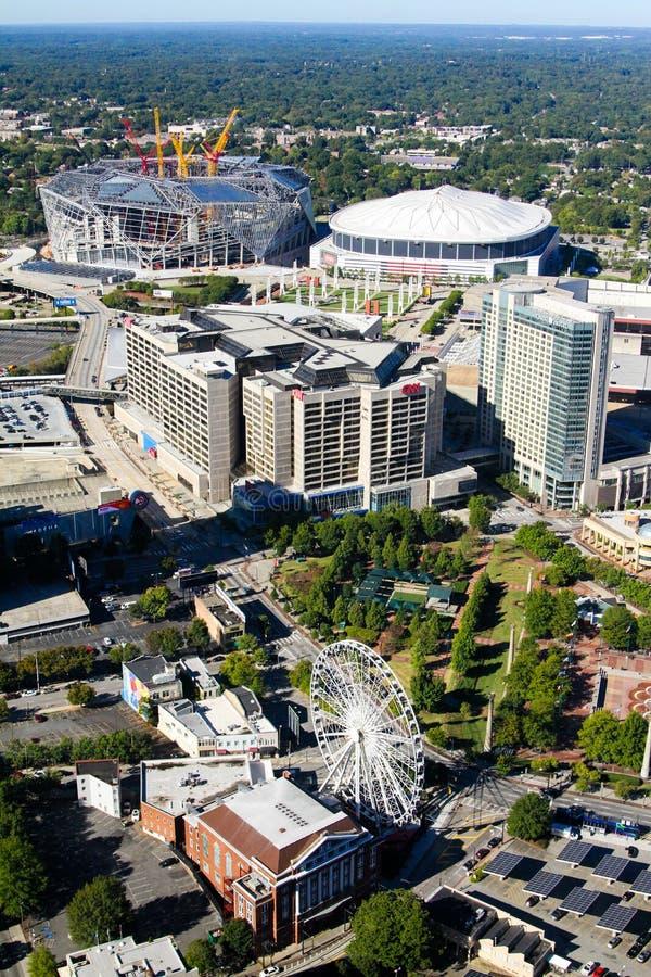 Atlanta du centre, GA photographie stock libre de droits