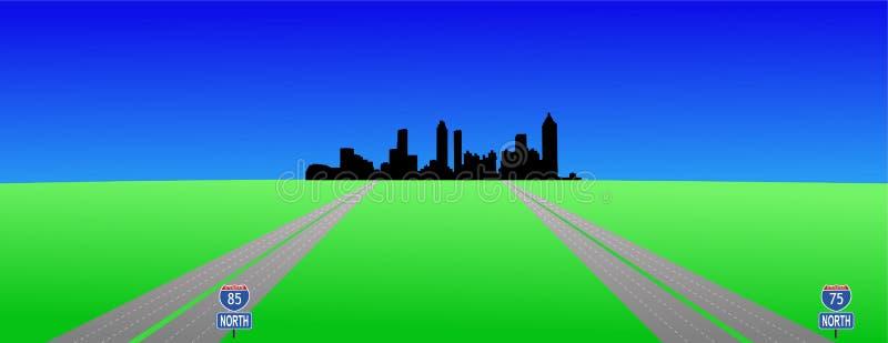 Atlanta e interstates libre illustration