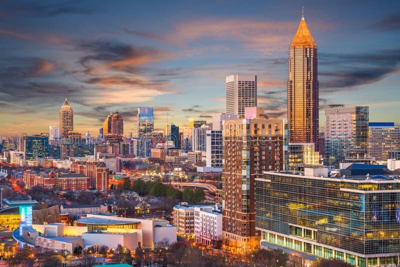 Atlanta, Geórgia, EUA imagem de stock royalty free