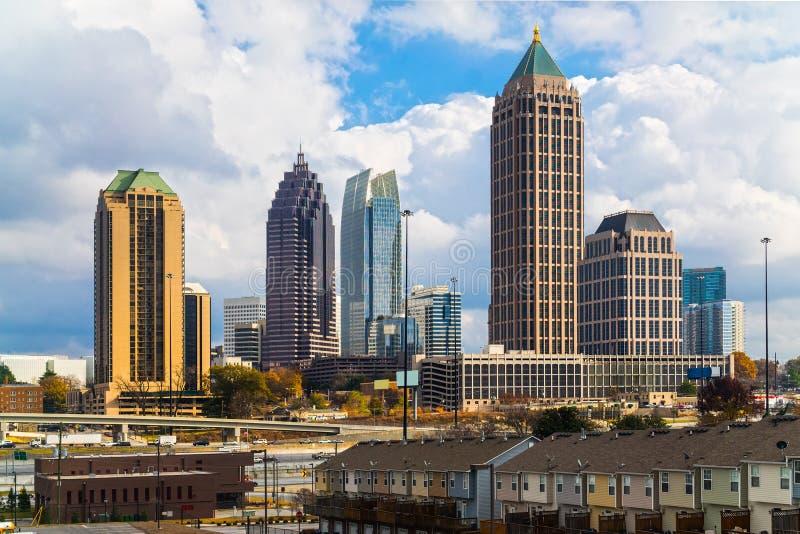Atlanta, Geórgia, EUA fotografia de stock royalty free