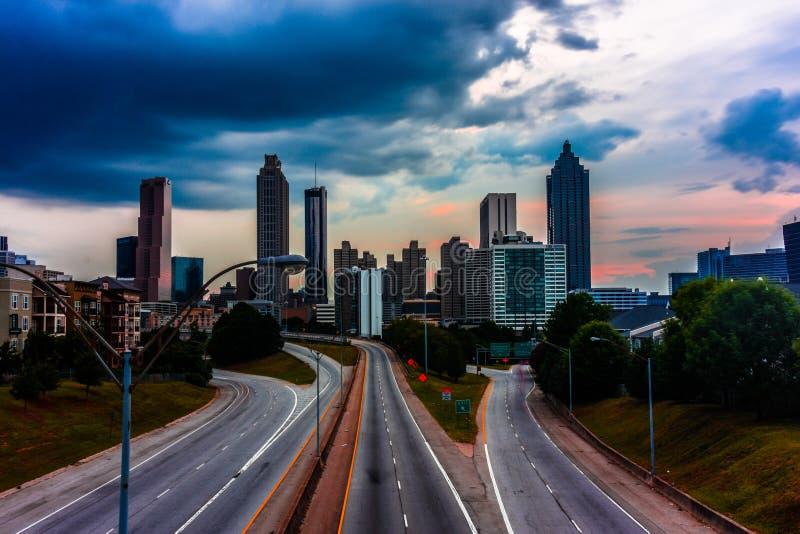 Atlanta, Georgië stock foto
