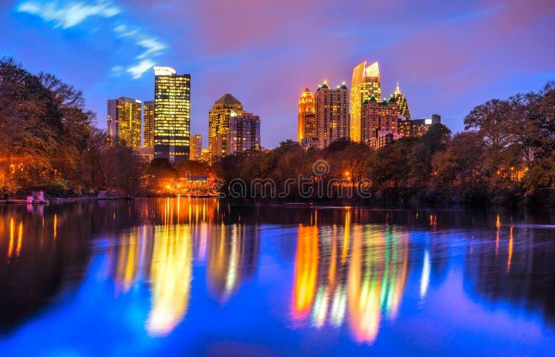 Atlanta, Georgië, de V stock fotografie