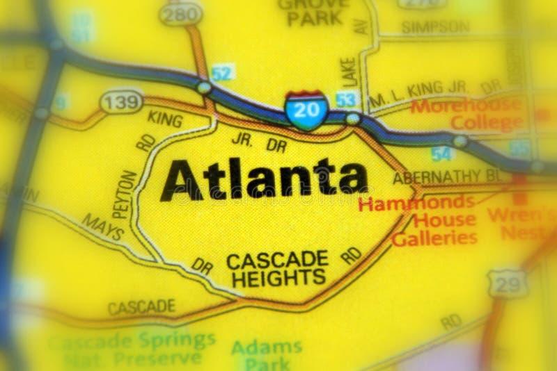 Atlanta, Georgië - Verenigde Staten de V.S. stock afbeelding