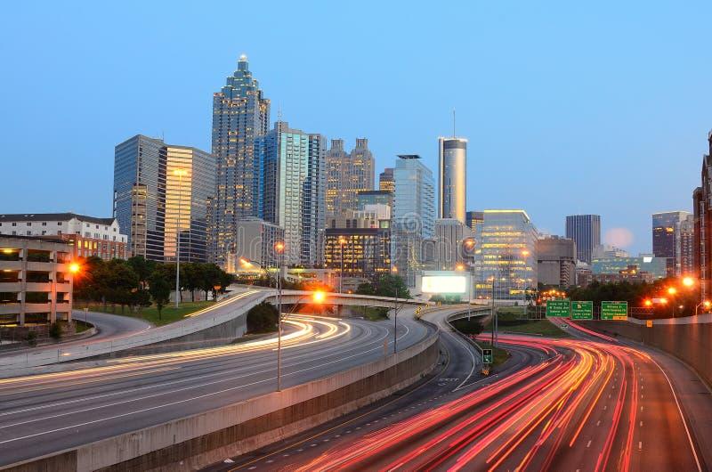 Download Atlanta, Georgia stock photo. Image of night, dawn, buildings - 19471322