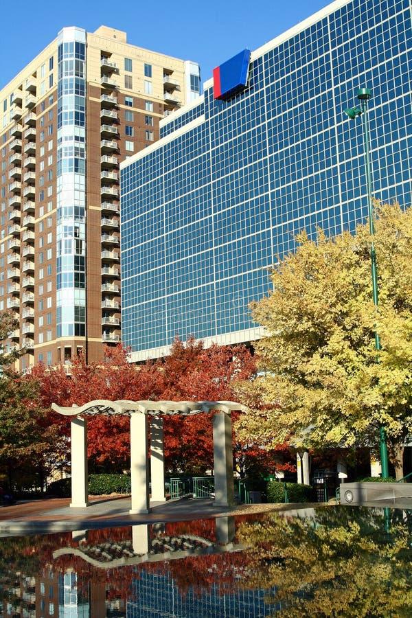 Atlanta, Georgia in Autumn stock photos