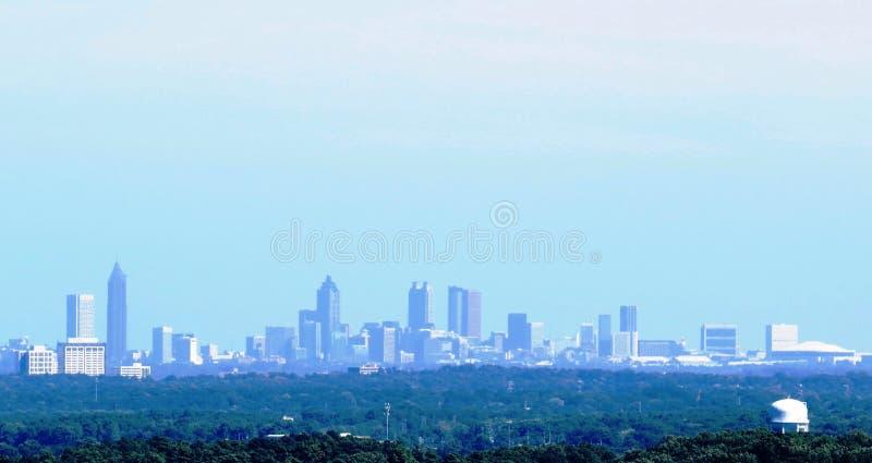 Atlanta Georgia Skyline royalty free stock photo