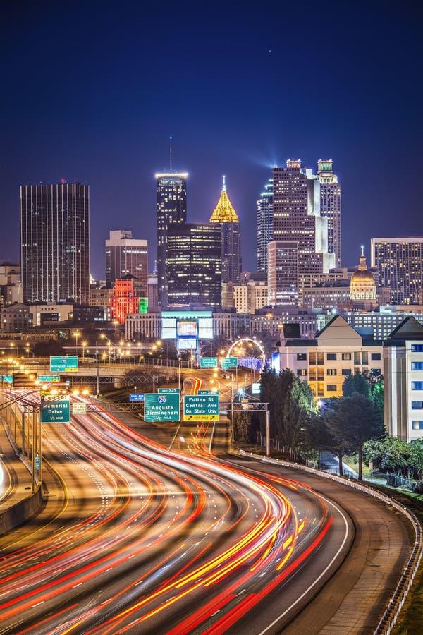 Download Atlanta, Georgia Skyline stock image. Image of exposure - 37096559