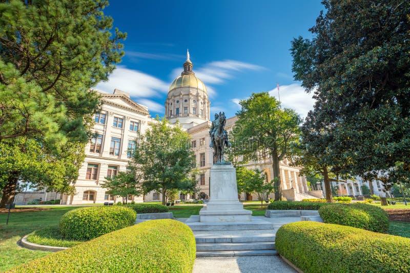 Atlanta Georgia State Capital stockfotografie