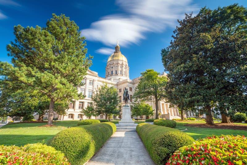 Atlanta Georgia State Capital fotografie stock