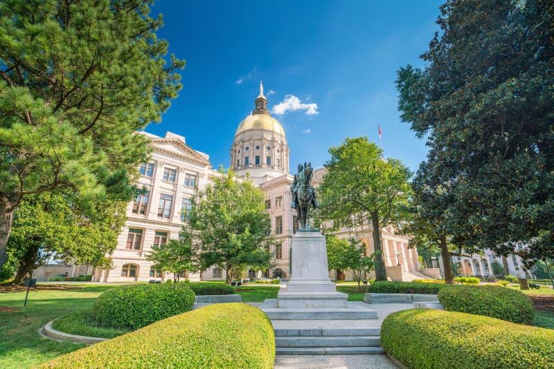 Atlanta Georgia State Capital immagine stock libera da diritti