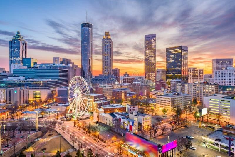 Atlanta, Georgia, U fotografie stock