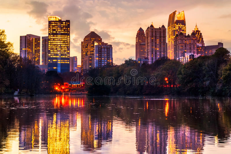 Atlanta, Georgia, U.S.A. fotografia stock