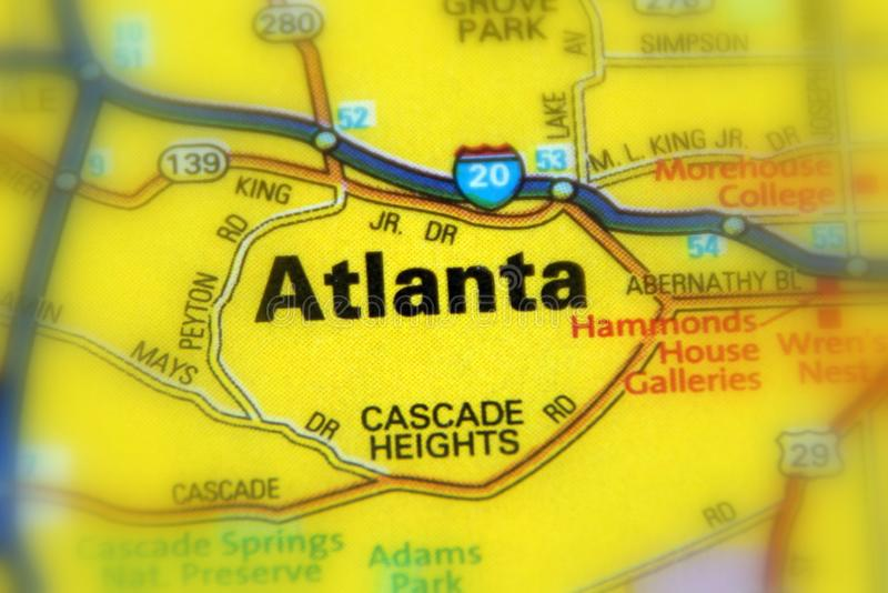 Atlanta, Georgia - United States US. Atlanta is the capital of the state of Georgia, United States US stock image