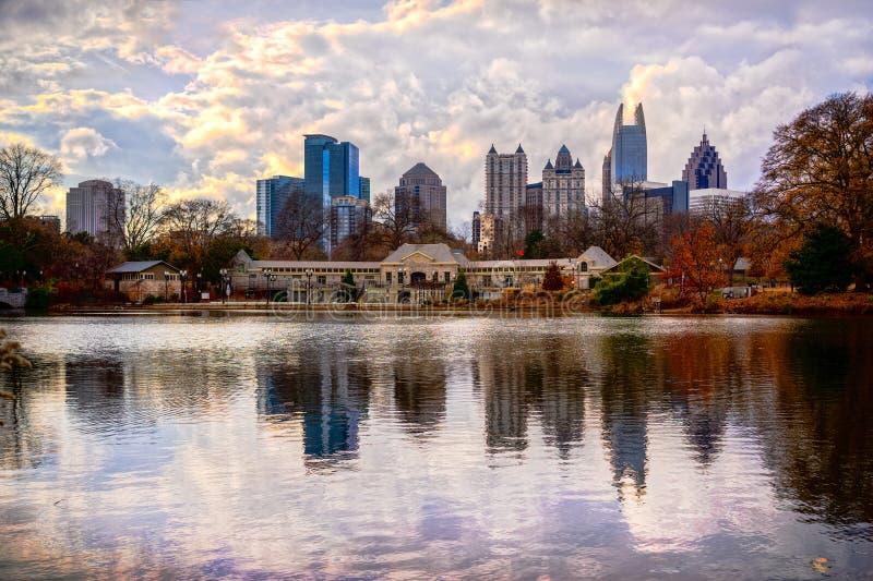 Atlanta Georgia, USA royaltyfri foto