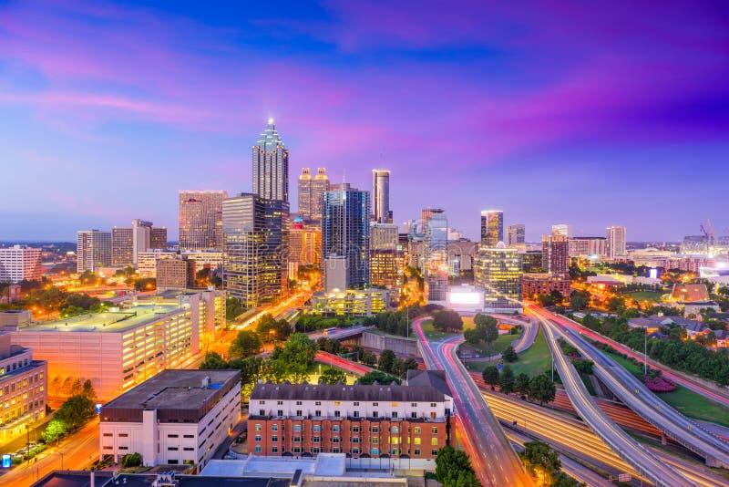 Atlanta, Georgia, USA stockbilder