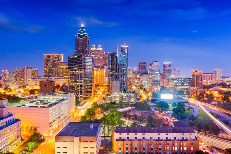 Atlanta, Georgia, USA Downtown Cityscape stock photos