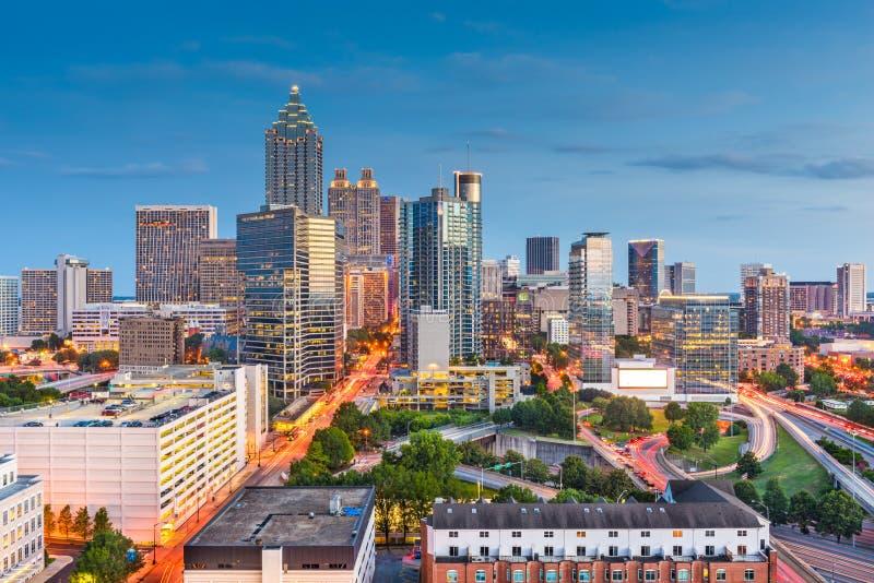 Atlanta, Georgia, USA Downtown Cityscape stock image