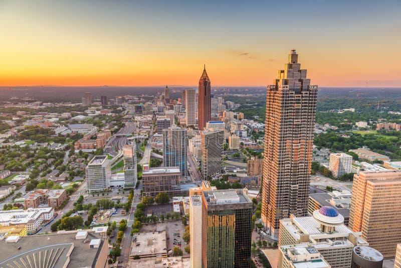 Atlanta, Georgia, USA Downtown Skyline stock photography