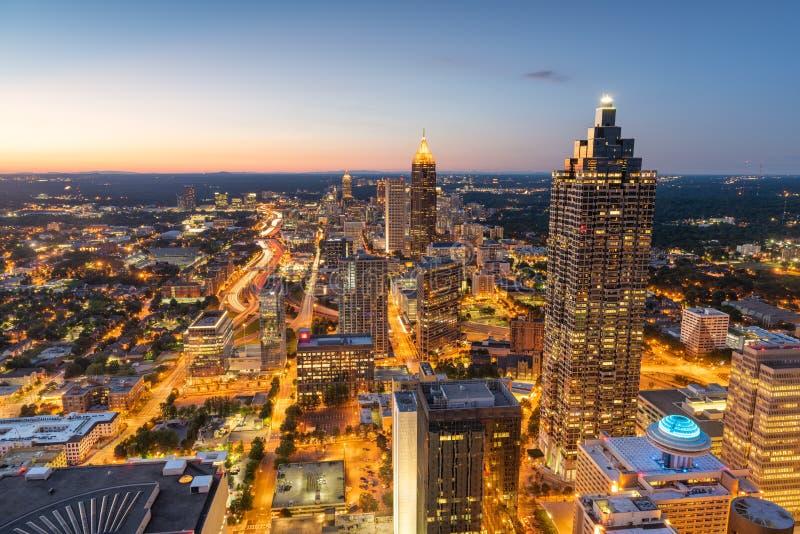 Atlanta, Georgia, USA Downtown Skyline stock photos