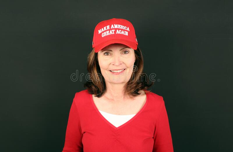 Trump Supporter royalty free stock photography