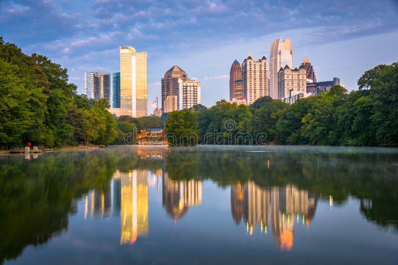 Atlanta, Georgia, USA Midtown Skyline stock images