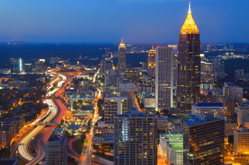 Atlanta Gruzja obrazy royalty free