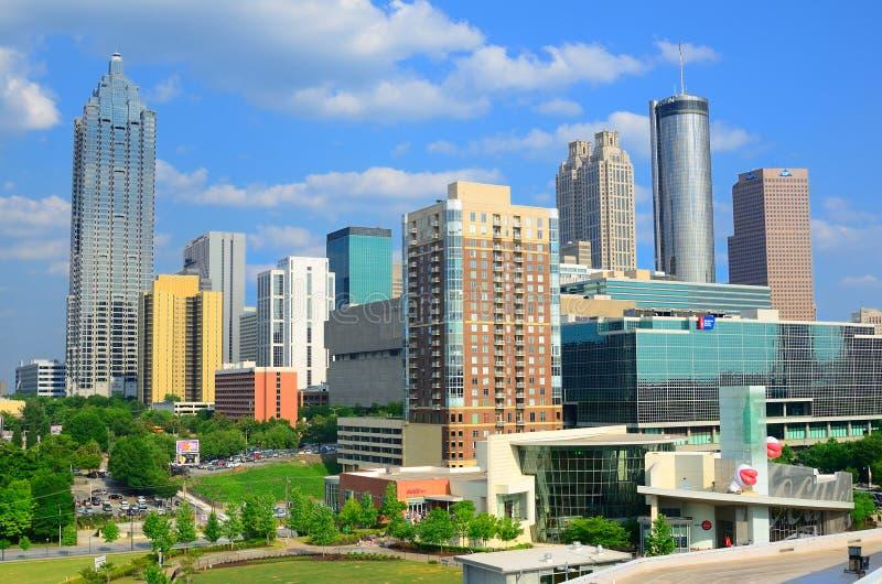 Atlanta, Gruzja Linia horyzontu obrazy royalty free