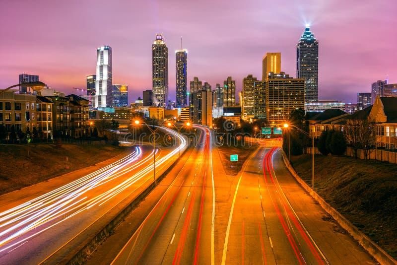 Atlanta, Gruzja, usa obrazy stock