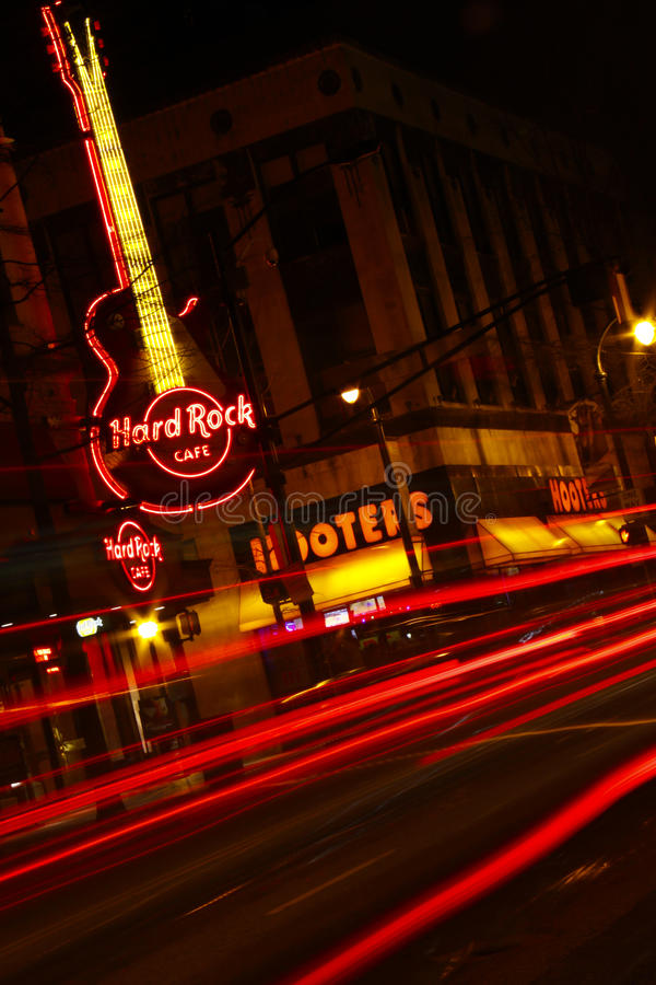 Color Of Night Hard Rock Cafe