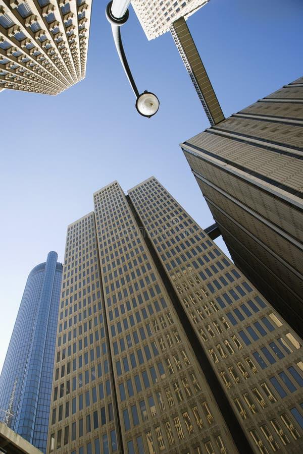 atlanta i stadens centrum skyskrapor royaltyfria foton