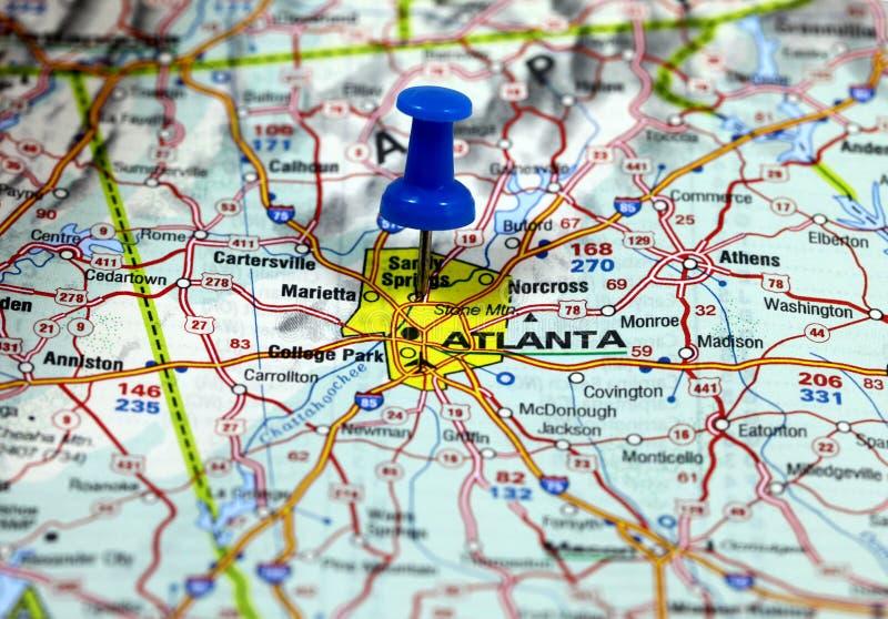 Atlanta i USA royaltyfri foto