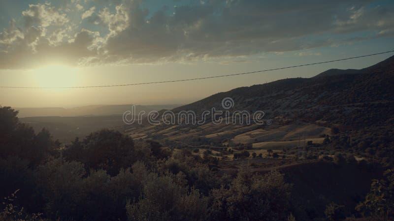 atlanta Morocco góry zdjęcie stock