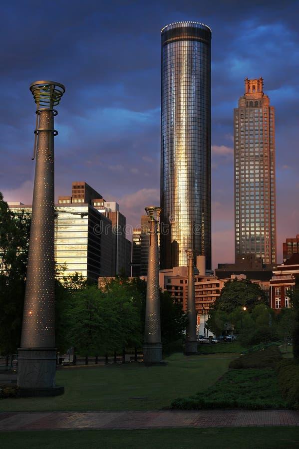 Download Atlanta Park stock image. Image of trees, atlanta, grass - 2435935