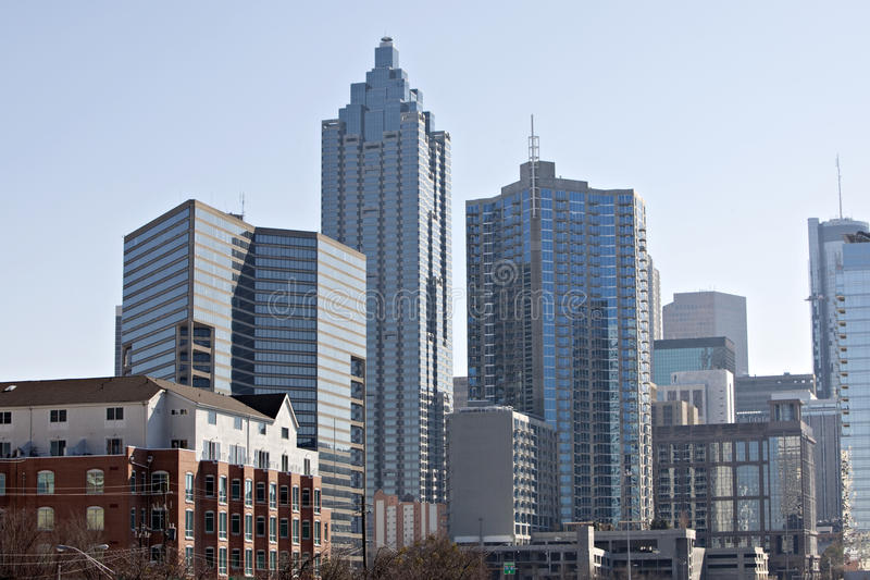 Atlanta-Skyline stockfoto